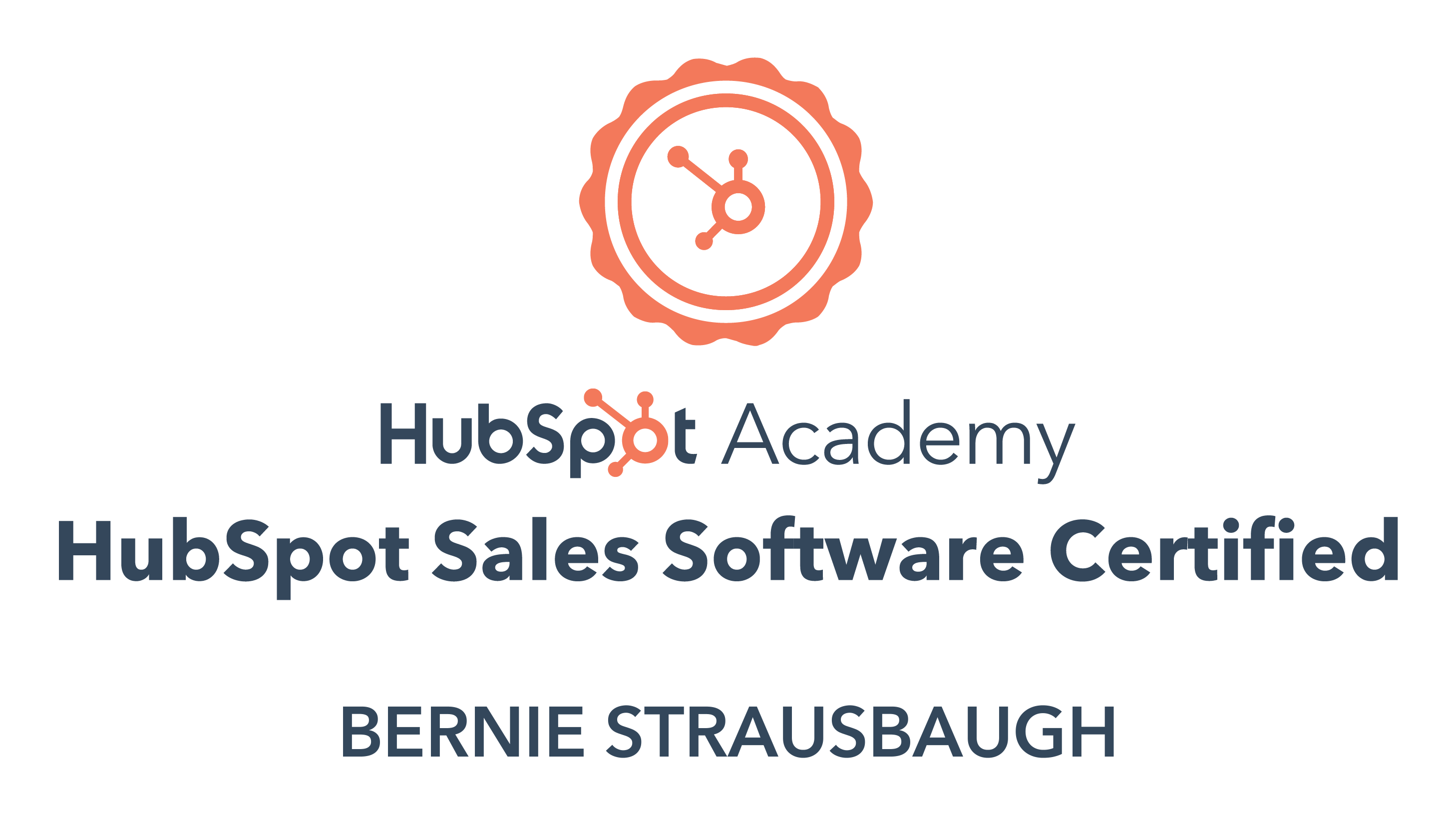 sales software cert